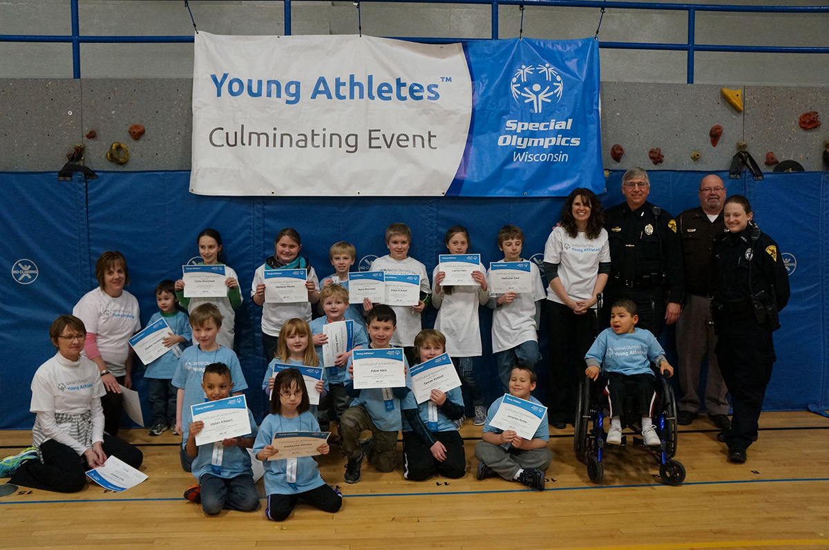 Photo of the Young Athletes
