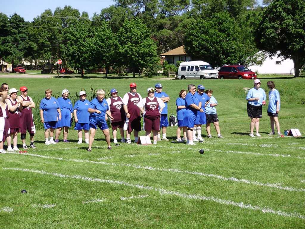 Photo of Bocce Ball event
